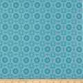 Riley Blake Hello Lovely Medallion Aqua