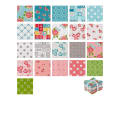 Riley Blake Hello Lovely Fat Quarter Bundle 21 Pcs. Multi