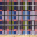 Art Gallery Decadence Opulent Plaid Gems Blue