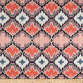 Art Gallery Decadence Brocade Mirage Flamme Coral
