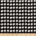 Art Gallery Decadence Houndstooth XIV Onyx Black & White