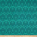 Art Gallery Decadence Coquille Damask Teal