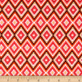 Art Gallery Autumn Vibes Kilim Inherit Rainforest Raspberry