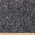 Telio Tweed Poly Wool Mix Black