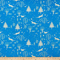Paintbrush Studio Otter Romp Otters & Trees Blue