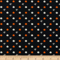 Paintbrush Studio Otter Romp Small Floral Black