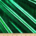 Foil Lame Knit Spandex Green