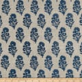 Ralph Lauren Home LCF68374F Allie Blockprint Duck Slate
