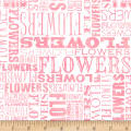 Shannon Christensen Cottage Joy Flower Word Pink
