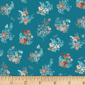 Clare Theresa Gray Birdsong Bouquet Turquoise