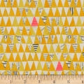 Carrie Bloomston Wonder Stacked Triangle Mustard