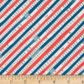 Carrie Bloomston Wonder Bias Stripe Navy