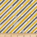 Carrie Bloomston Wonder Bias Stripe Charcoal