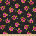 Windham Gypsy Floral Clusters Charcoal