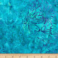 Kaufman Bright Blooms Artisan Batiks Water
