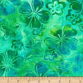 Kaufman Bright Blooms Artisan Batiks Pool