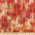 Kaufman Fusions Brushwork Poppy