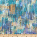 Kaufman Fusions Brushwork Sea Glass