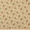 QT Fabrics Coventry Floral Trellis Cream