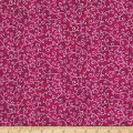 QT Fabrics Mariposa Scroll Dark Pink