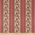 Andover Windermere Floral Stripe Rose
