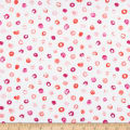 Andover Top Drawer Multi Dot Coral
