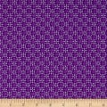 Maywood Studio Emma's Garden Dimensional Geo Violet Red