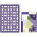 Maywood Studio Quilt Kit Pod Emma's Garden Sister's Choice 6 Block Multi
