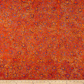 Maywood Studio Mango Tango Batiks Continuous Geo Orange Periwinkle