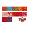 Maywood Studio Mango Tango Batiks Fat Quarter Bundle 12 Pcs. Multi