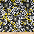 Wilmington Sunny Days Large Floral Black