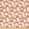 Wilmington Barcolage Plumes Ivory/Red