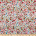 Wilmington Bohemian Dreams Flower Texture Pink