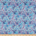 Wilmington Bohemian Dreams Flower Texture Blue