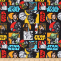 Star Wars Characters Flannel Multi