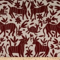 Artistry Fiesta Otomi Inspired Yarn-Dyed Jacquard Crabapple