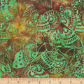 Anthology Fabrics  Art Inspired Batik Nighthawks Tribal Butterfly Twist
