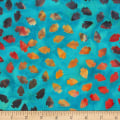 Anthology Fabrics Specialty Southwest Arrowheads Turquoise