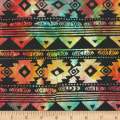 Anthology Fabrics Specialty Batik Southwest Blanket Stripe Multi