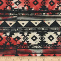 Anthology Fabrics Specialty Batik Southwest Blanket Stripe Black