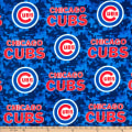 MLB Fleece Chicago Cubs Blue/Red