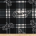 MLB Fleece Chicago White Sox Black/White