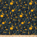 Marimekko Jaspi Heavyweight Cotton Navy