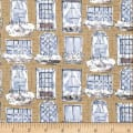 Michael Miller Alfresco City View Neutral