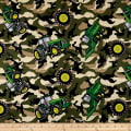 John Deere Everyday Cotton Camo Tractor Toss Green