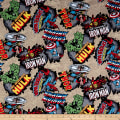 Marvel Comics Cotton Comic Burst Red