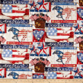 Springs Creative Patriotic Land Of The Free Multi