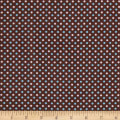 Two Tone Dot Flannel Brown