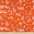James And The Giant Peach Toile Orange