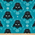 Star Wars Darth Vader Sugar Skulls Fleece Dark Turquoise